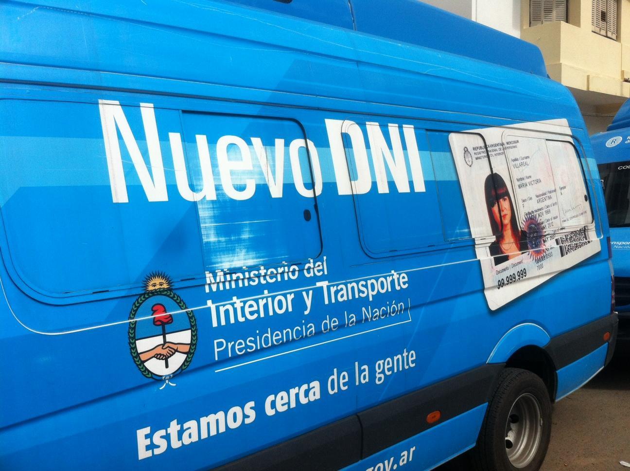M viles para tramitar el nuevo dni en necochea for Pasaporte ministerio interior