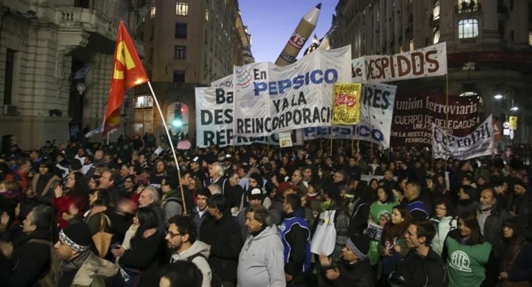 Trabajadores de Pepsico marcharán al Ministerio de Trabajo