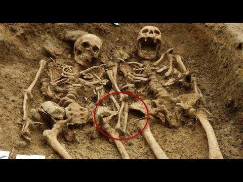 Hallan restos de 'gigantes' que vivieron hace 5 mil años — China