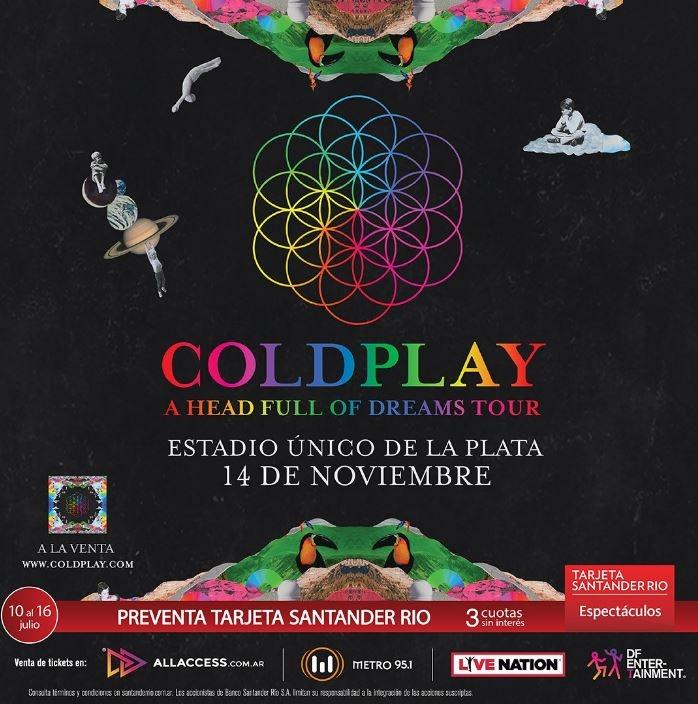 Coldplay cierra la gira