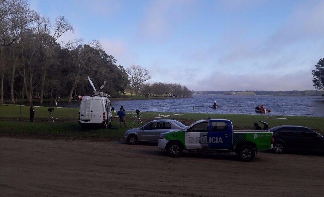 Hallaron el cuerpo del joven desparecido en Laguna de los Padres