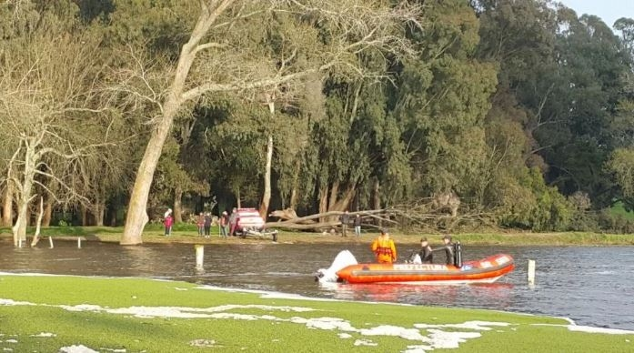 Encontraron el cuerpo joven que había caído del kayak