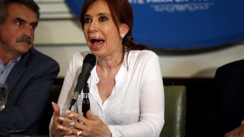 Cristina Kirchner pidió