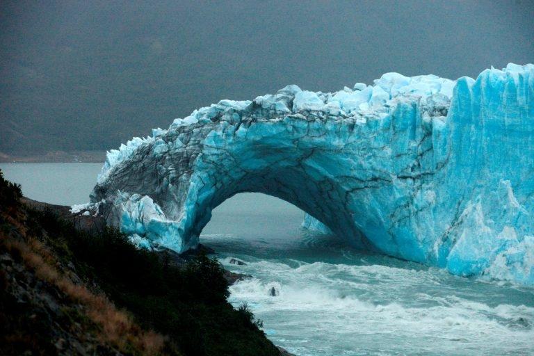 El glaciar Perito Moreno inicia proceso de ruptura — Argentina