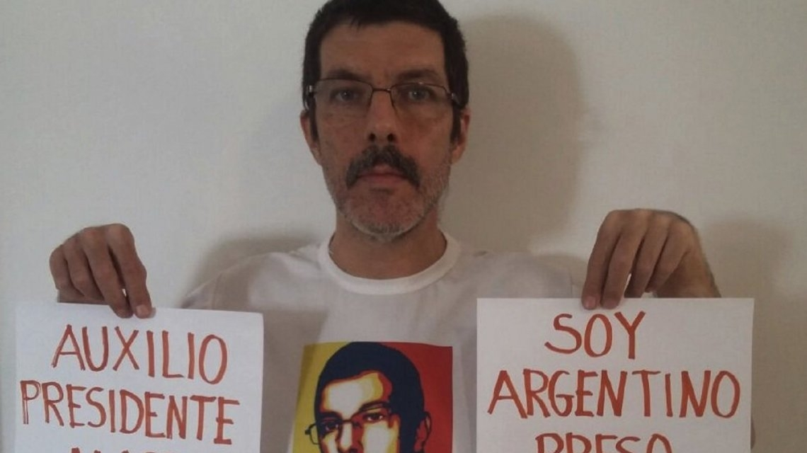 Logró huir un preso político argentino de Venezuela