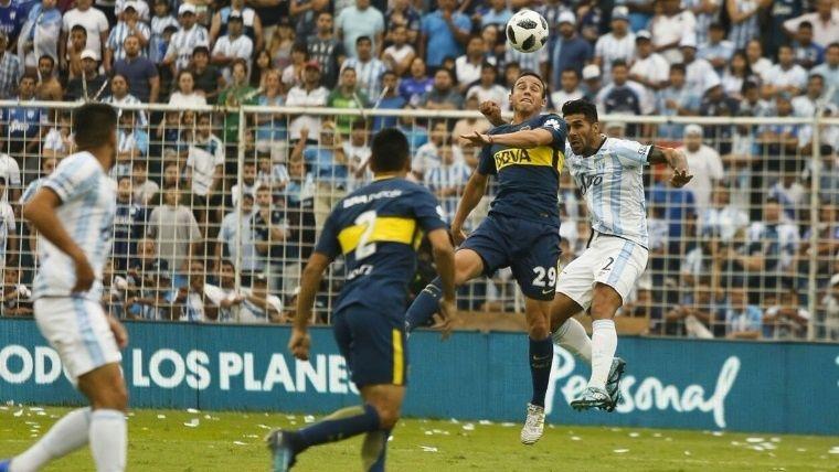 Con gol de Bou en el final, Boca empató en Tucumán