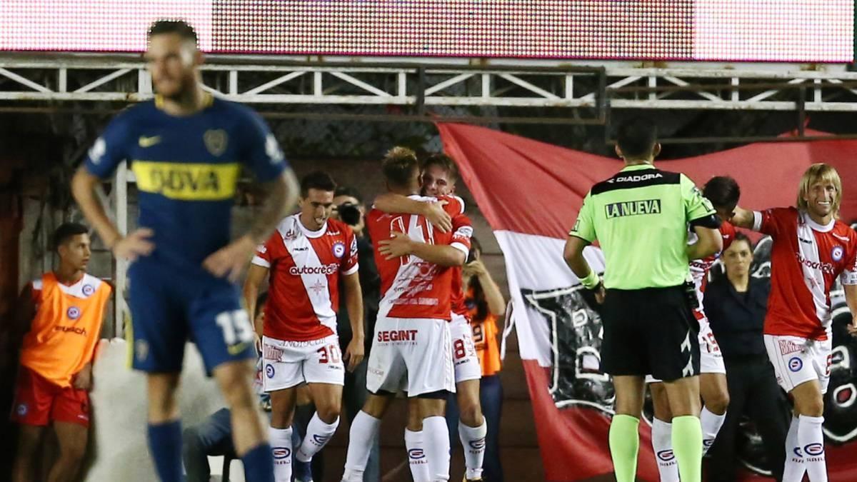 Argentinos apabulló a Boca, que sigue líder cómodo — Superliga