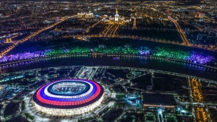 En vivo Mirá online la inauguración del Mundial de Futbol 2018