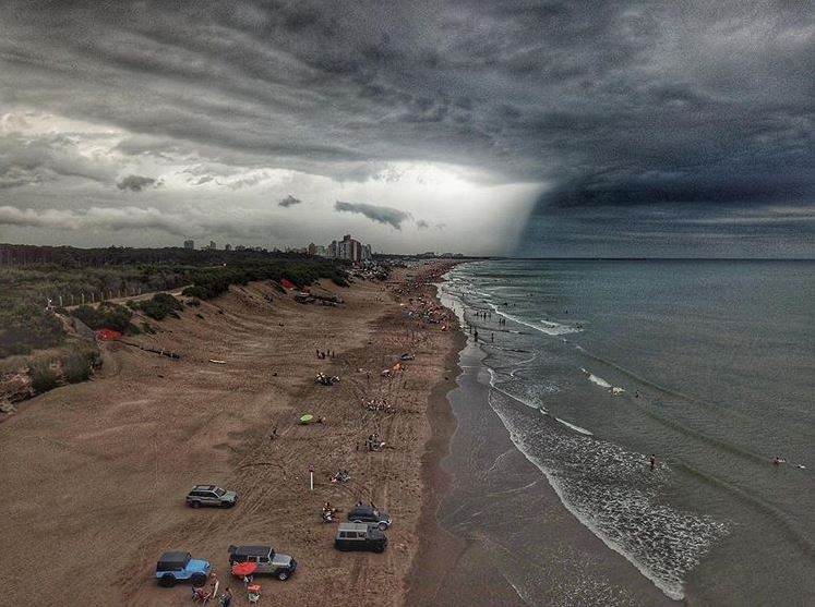 """Se renueva el alerta por """"tormentas intensas"""" para Necochea y la zona - Diario Cuatro Vientos"""