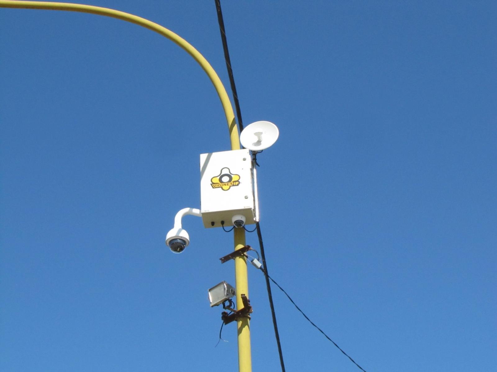 San Cayetano sigue instalando cámaras de seguridad - Diario Cuatro Vientos