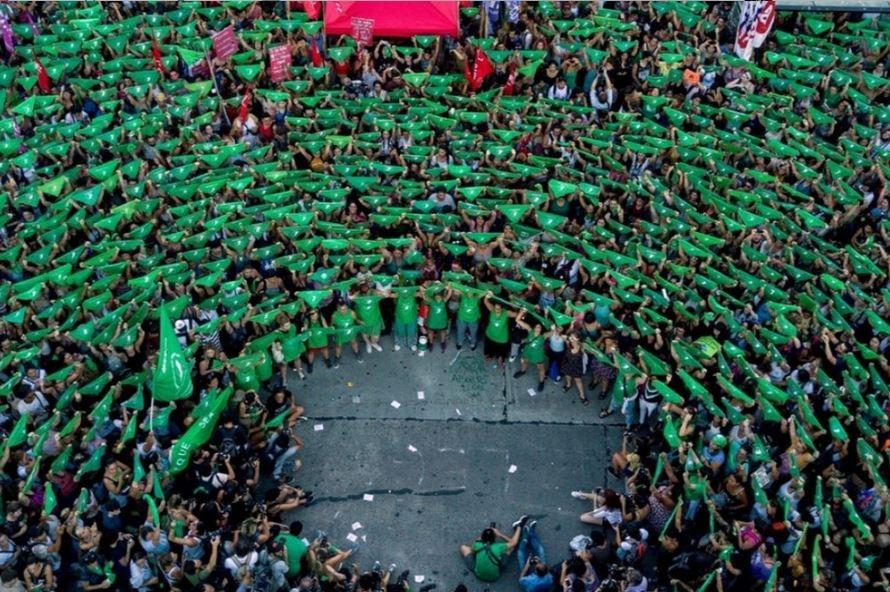 Resultado de imagen para argentina marea verde