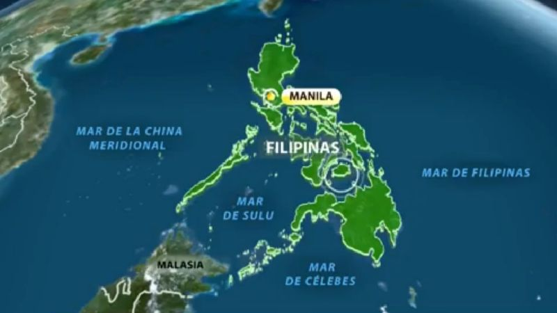 Video: Tres terremotos seguidos en Filipinas