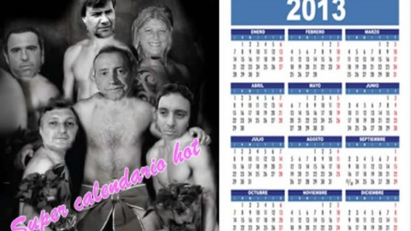 Furor en Necochea: Calendario hot tellecheista