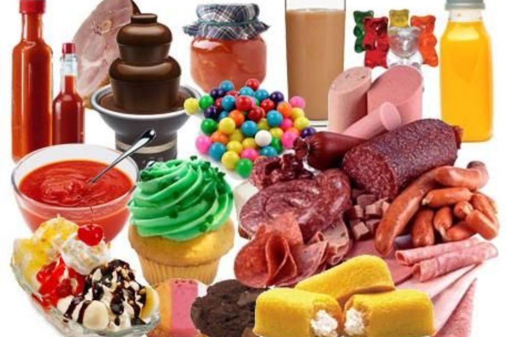 Tipos de alimentos industrializados