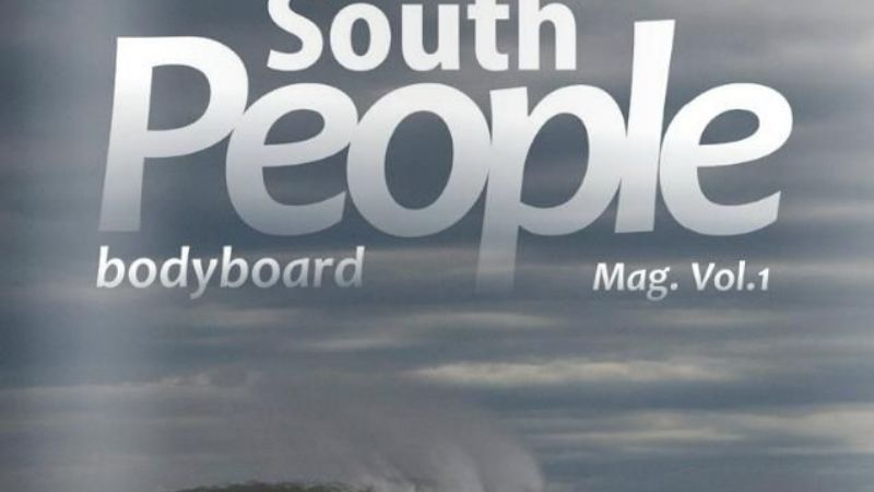 "Salió ""South People"": Nueva revista necochense de bodyboard"
