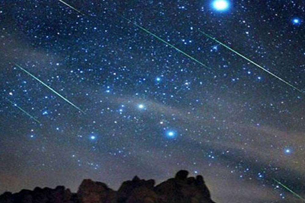"""Esta noche (22-10) se podrá ver la""""lluvia de estrellas"""" de las Oriónidas"""