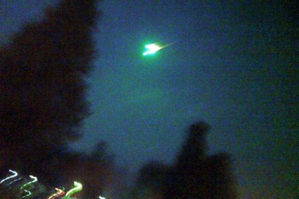 Sorpresa: Un meteorito estuvo a punto de hacer estallar la Tierra