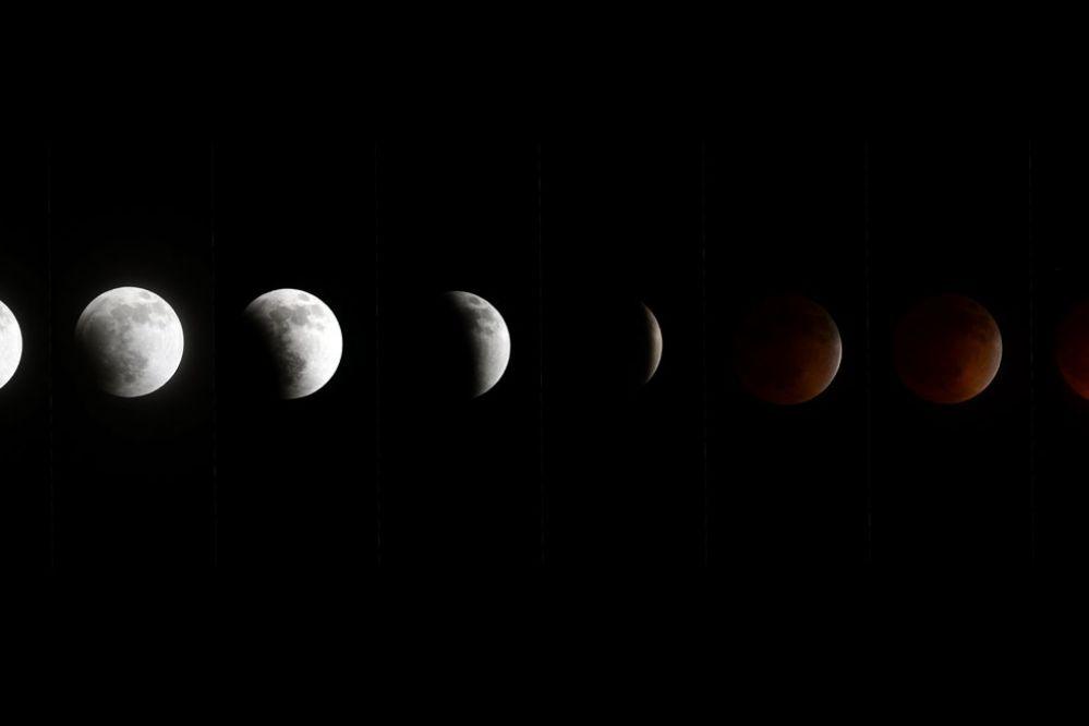 Este domingo: Super Luna Sangrante