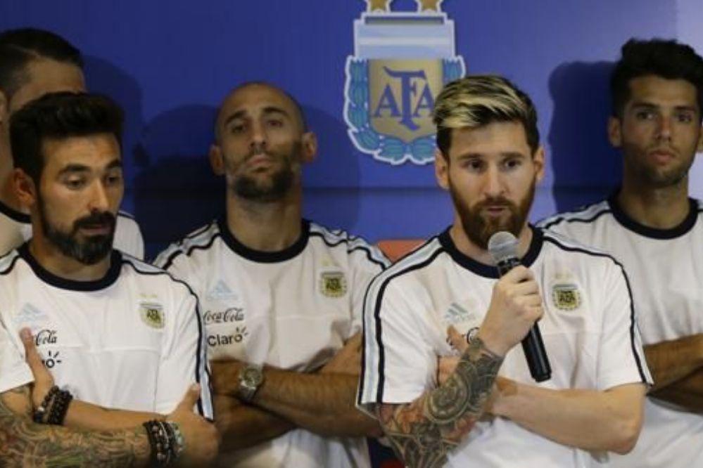 Por las críticas la selección argentina no hablará más con la prensa
