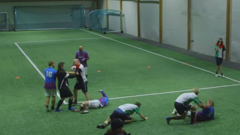 Video: Futbol borracho en Noruega