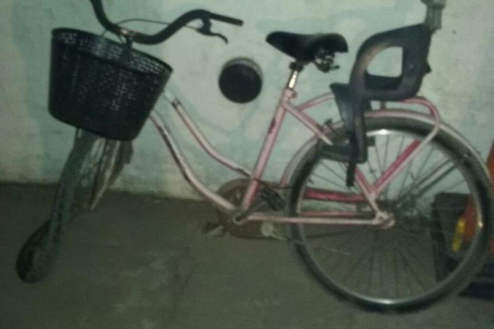 Le robó la bici a un nene de 12 años y después chocó contra un camión