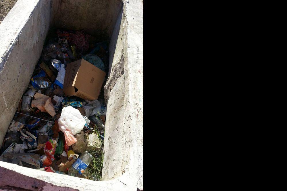 A la vista en Facebook: Un microbasural escondido en pleno centro de la ciudad