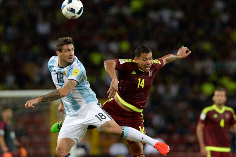 Fue empate: Argentina y Venezuela terminaron 2 a 2