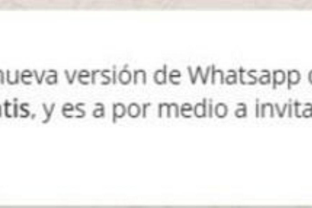 Atención: La estafa en WhatsApp que promete internet libre