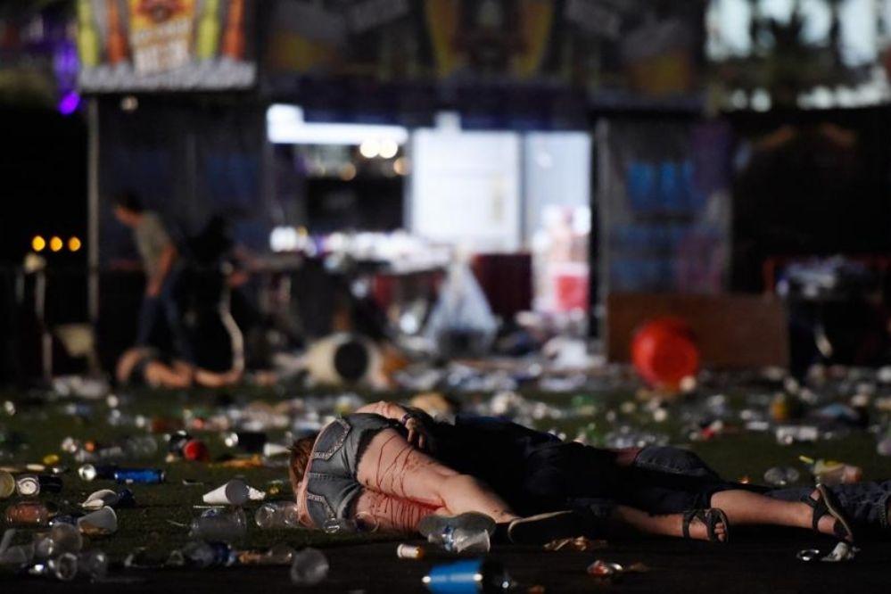 Video: Impresionantes imágenes del tiroteo en Las Vegas que dejó decenas de muertos