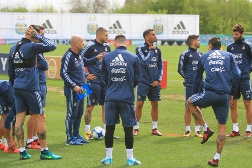 Sampaoli sigue probando: ¿Cómo formará la Selección Argentina?