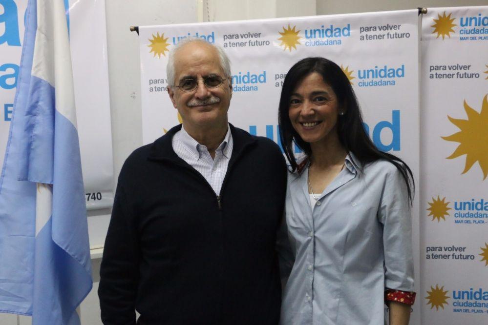 Andrea Cáceres se encontró con Taiana en Mar del Plata