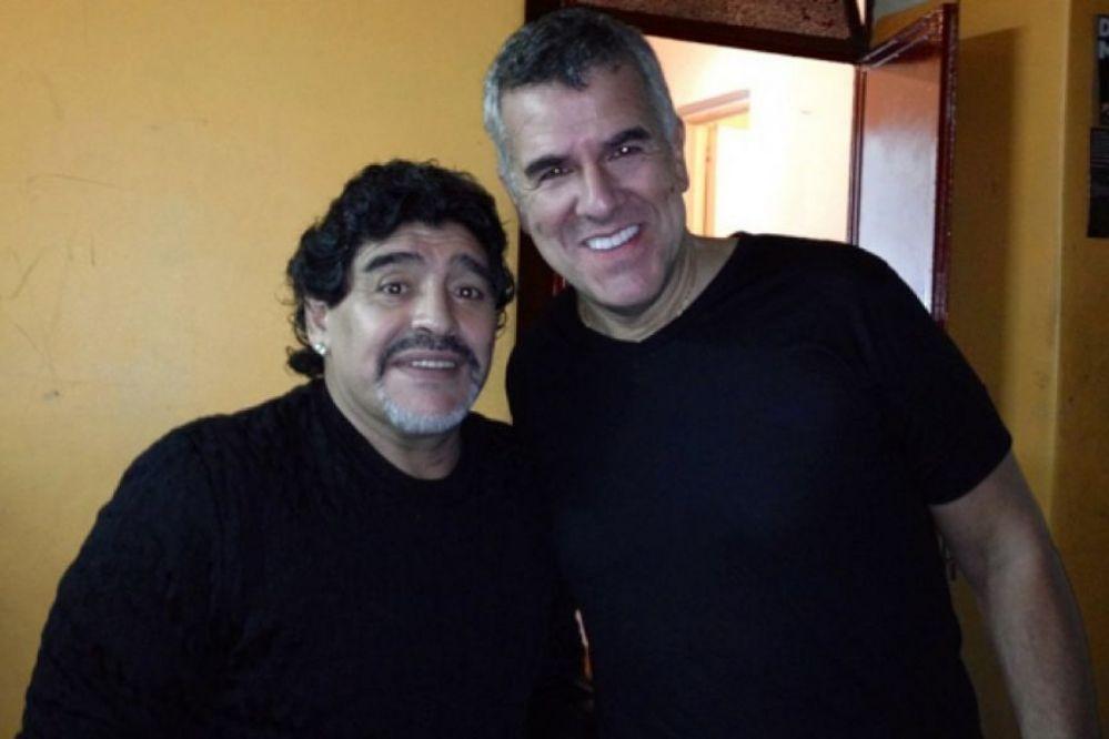 Maradona le tiró con todo a Dady Brieva