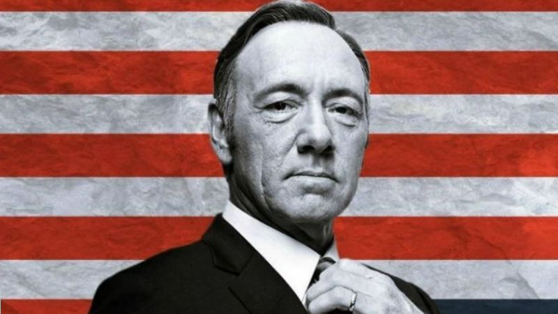 "Video: House Of Cards hizo una parodia del spot ""Menem lo hizo"""