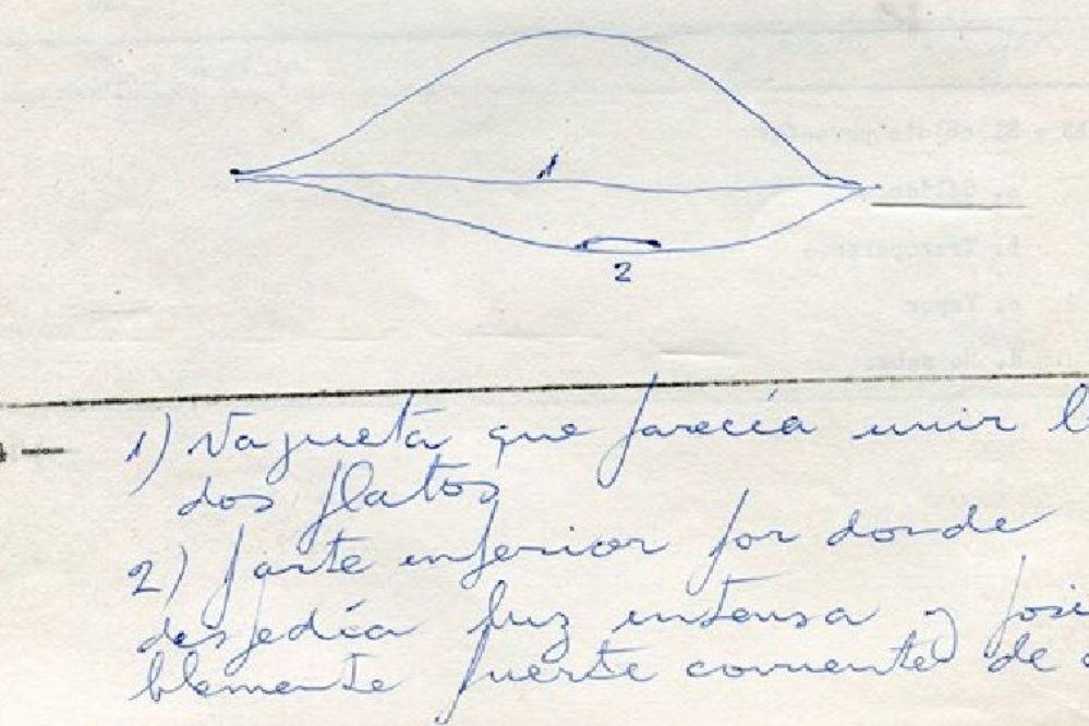 La Armada desclasificó el caso de un OVNI en Necochea