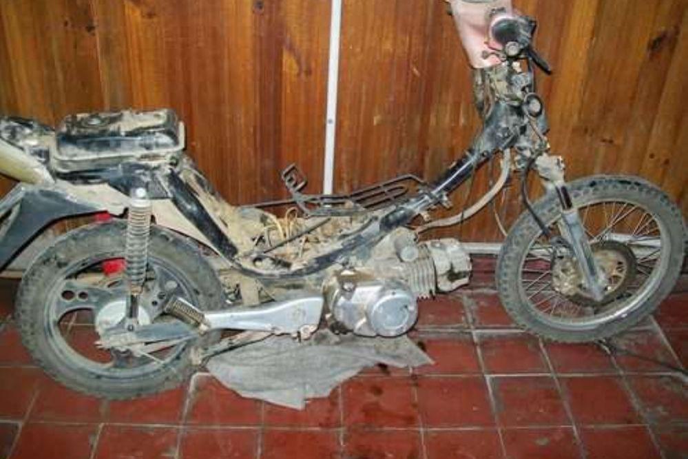 Robó una moto y lo atraparon cuando se la llevaba a tiro