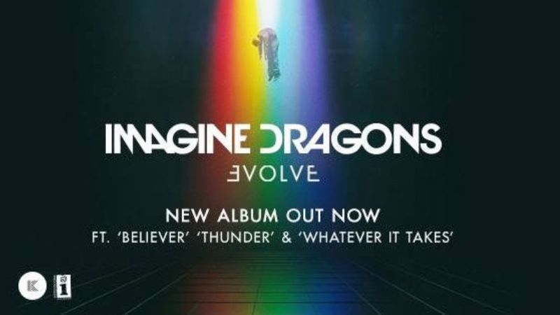 "Escuchalo acá: Imagine Dragons lanzó ""Evolve"", su tercer disco de estudio"