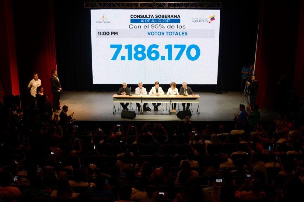 Más de 7 millones rechazaron la Constituyente de Nicolás Maduro