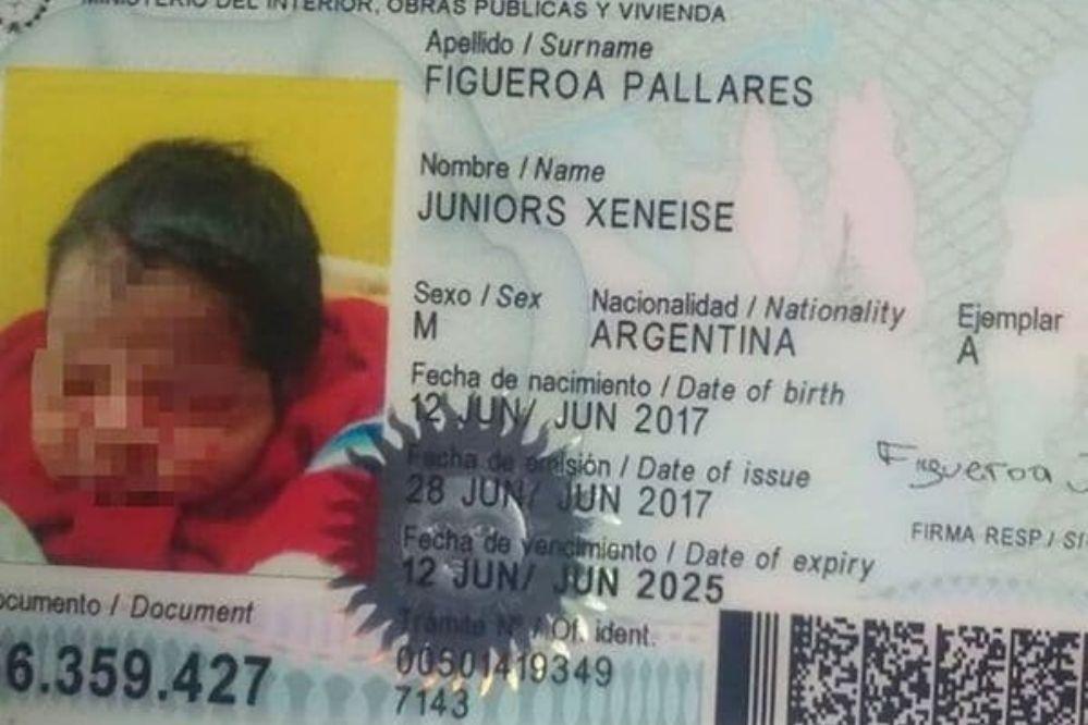 Juniors Xeneise, un bebé santiagueño fanático de Boca desde la cuna