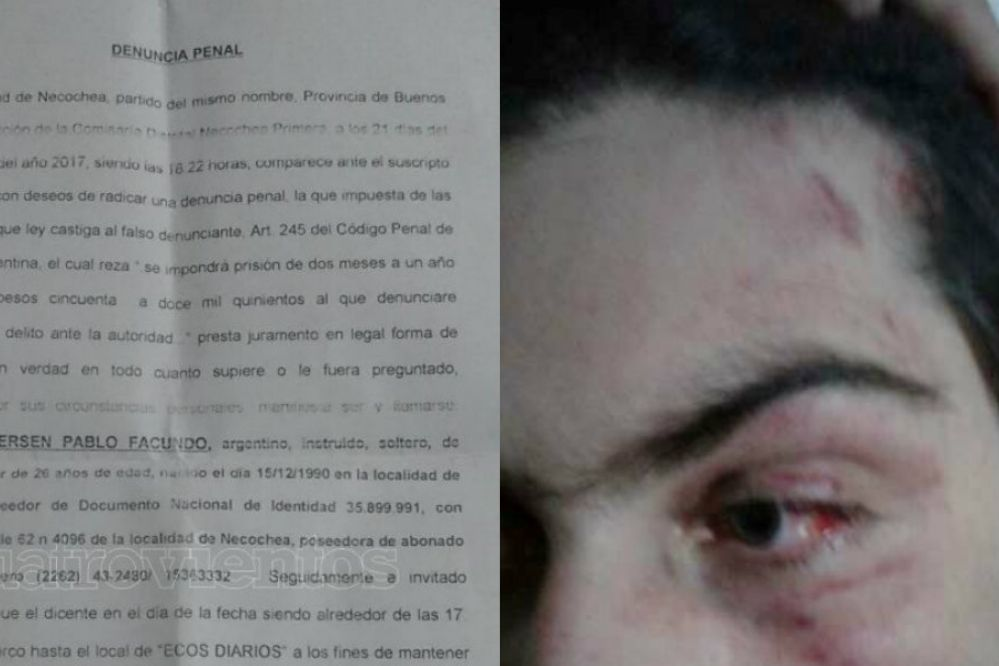 Golpiza en Ecos Diarios: Ahora la denuncia también incluye a Jorge Ignacio