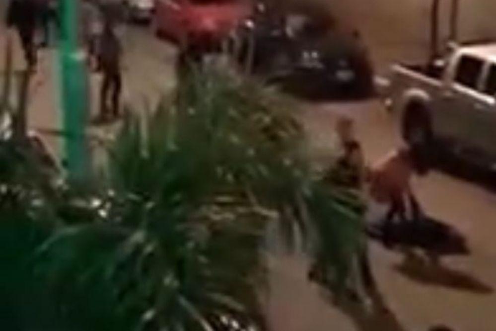 Video: Brutal golpiza de un patovica a jóvenes en boliche de Necochea