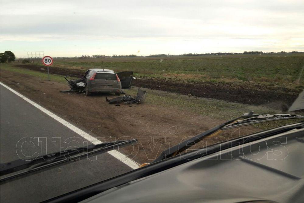 #Wassap4V: Video del C4 que chocó al cisterna en la ruta 88