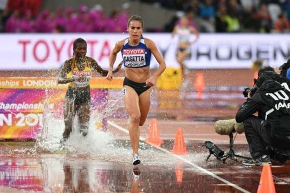Brillante actuación de Belén Casetta en el Mundial de Atletismo
