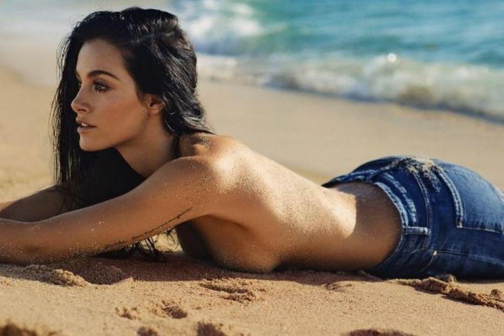 Muy sexy: Las fotos de Oriana Sabatini en la playa