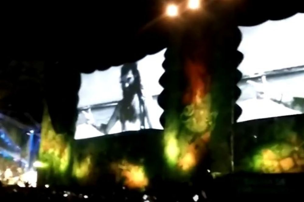 """Video: Al grito de """"Santiago donde está"""" se volvió a pedir por la aparición del joven en un recital de La Renga"""