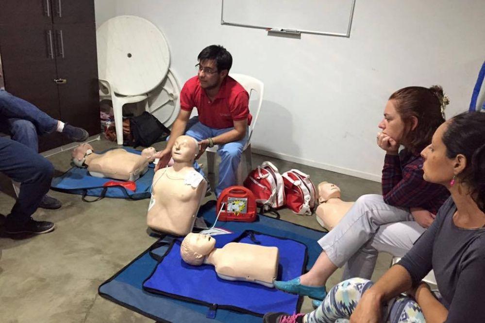 Nuevos cursos certificados por la Cruz Roja
