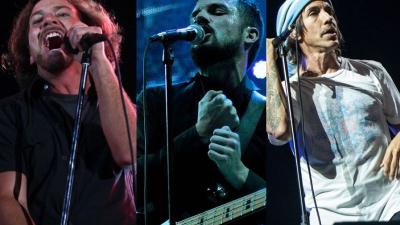 Confirmado: Pearl Jam, The Killers y Red Hot Chili Peppers son los headliners del Lollapalooza Argentina 2018