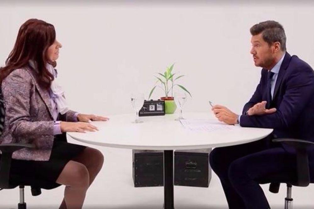 Video: Tinelli entrevistó a la falsa Cristina Kirchner