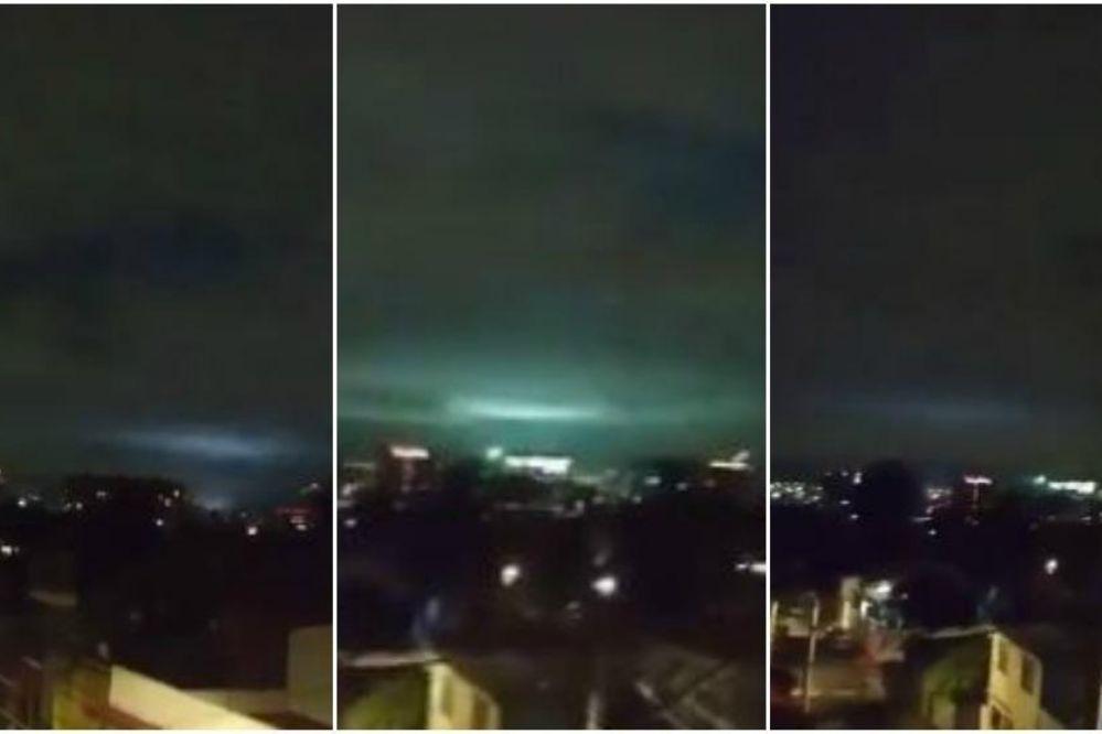 Video: Luces extrañas sobre México durante el terremoto