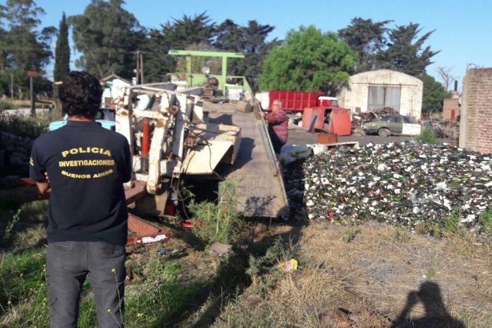 La DDI recuperó un guinche robado en diciembre