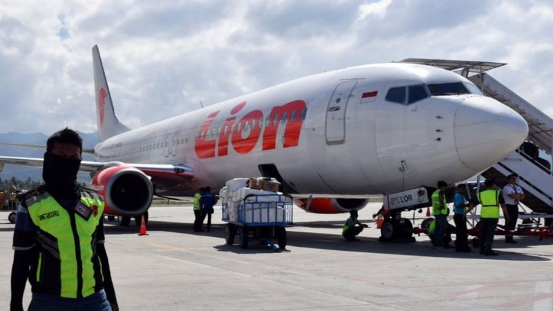 Cayó un avión de Lion Air en Indonesia con 189 personas a bordo